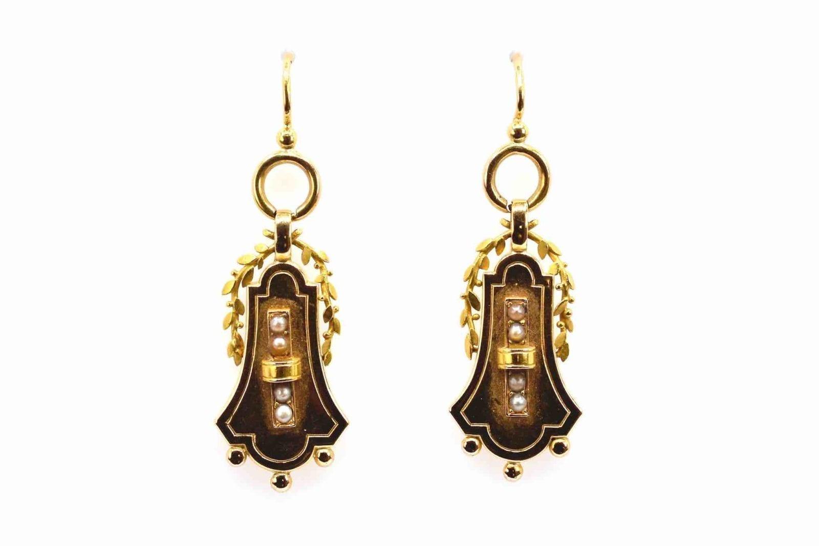 Boucles d'oreilles Napoléon III