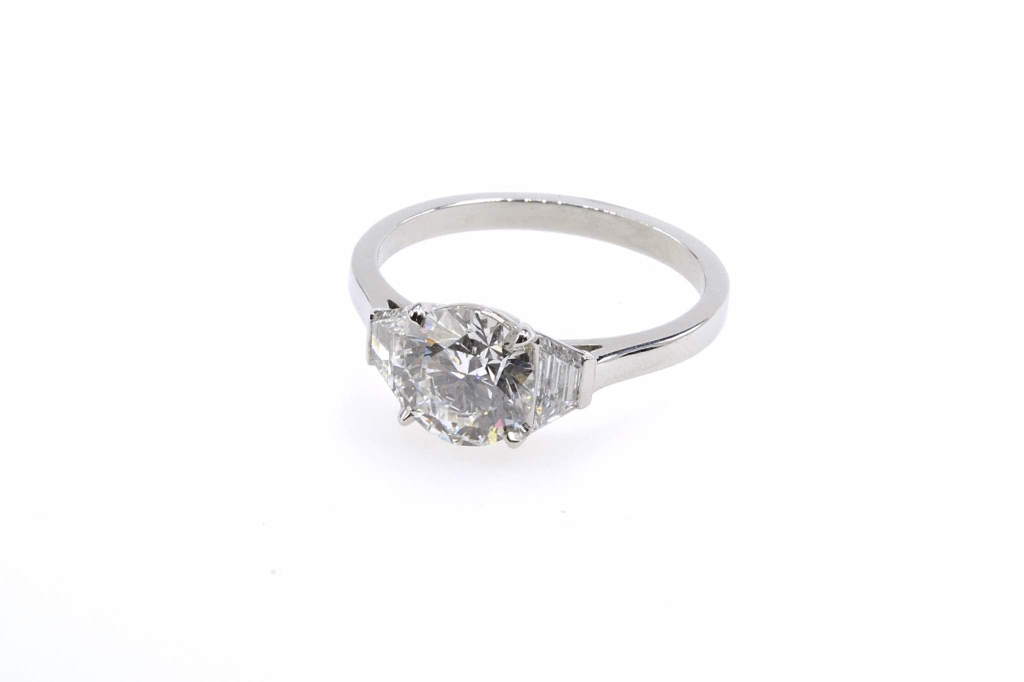 bague diamant solitaire diamant