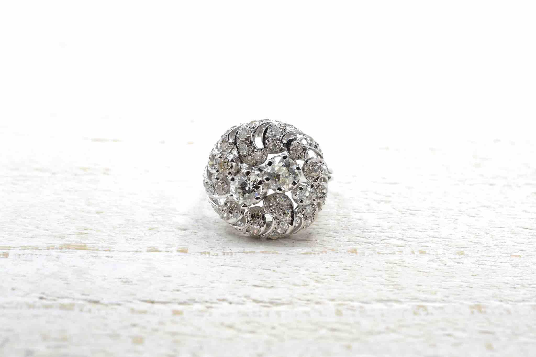Bague 1950 diamants