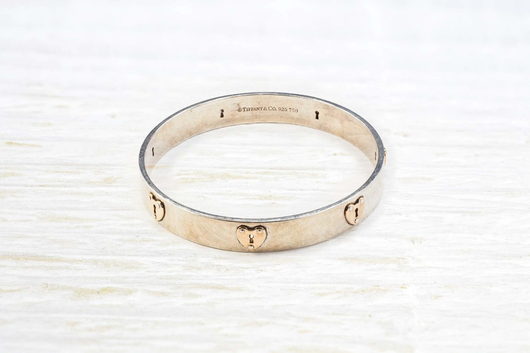bracelet tiffany argent
