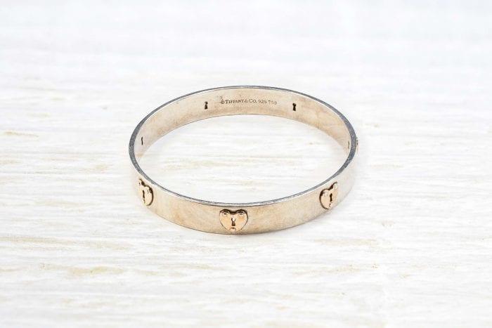 Bracelet jonc Tiffany