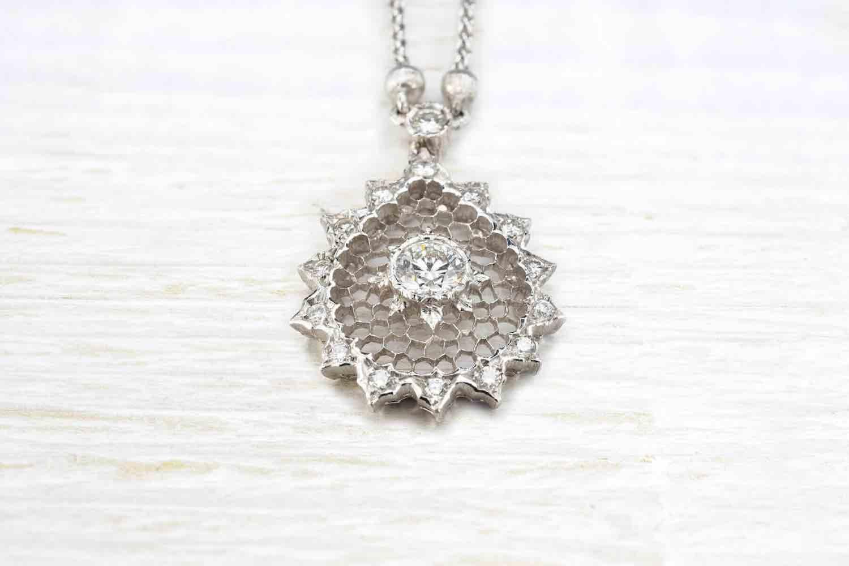 collier diamants d'occasion
