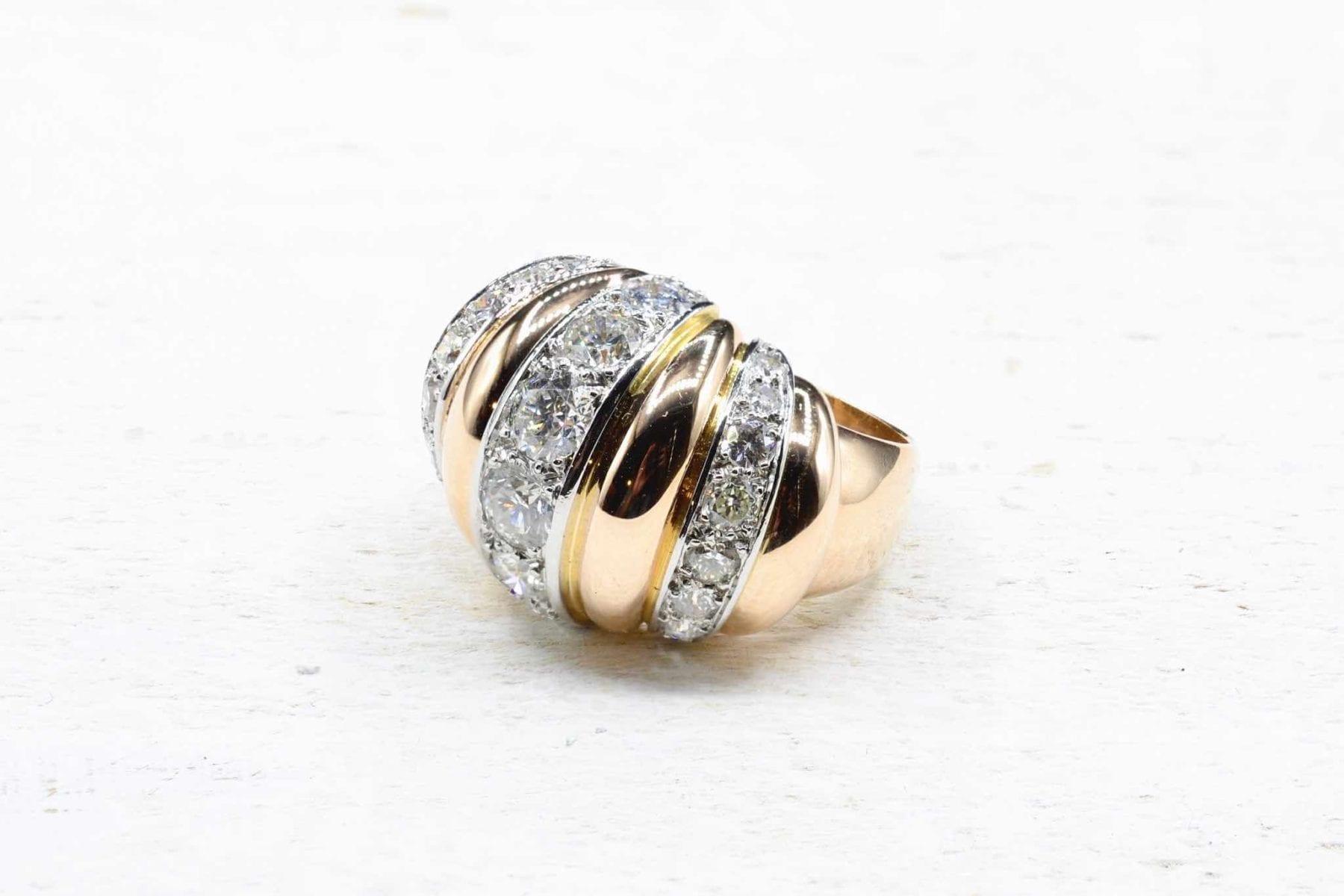Bagues 1950 diamants
