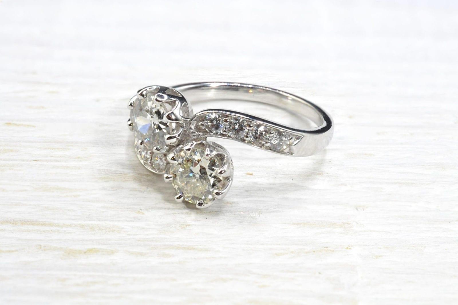 bague toi et moi diamants