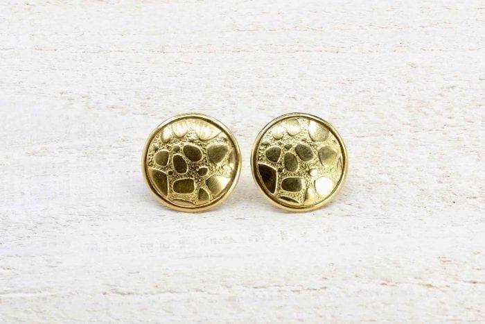 Boucles d'oreilles Korloff en or jaune 18k