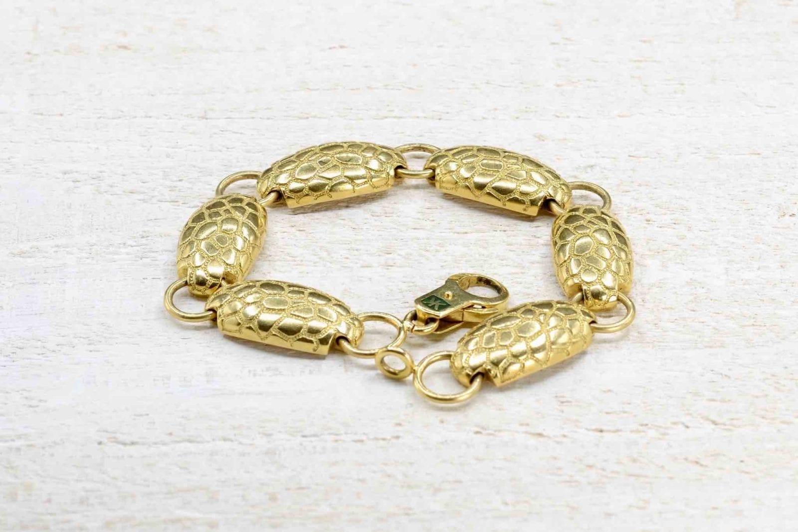 bracelet Korloff en or jaune 18k