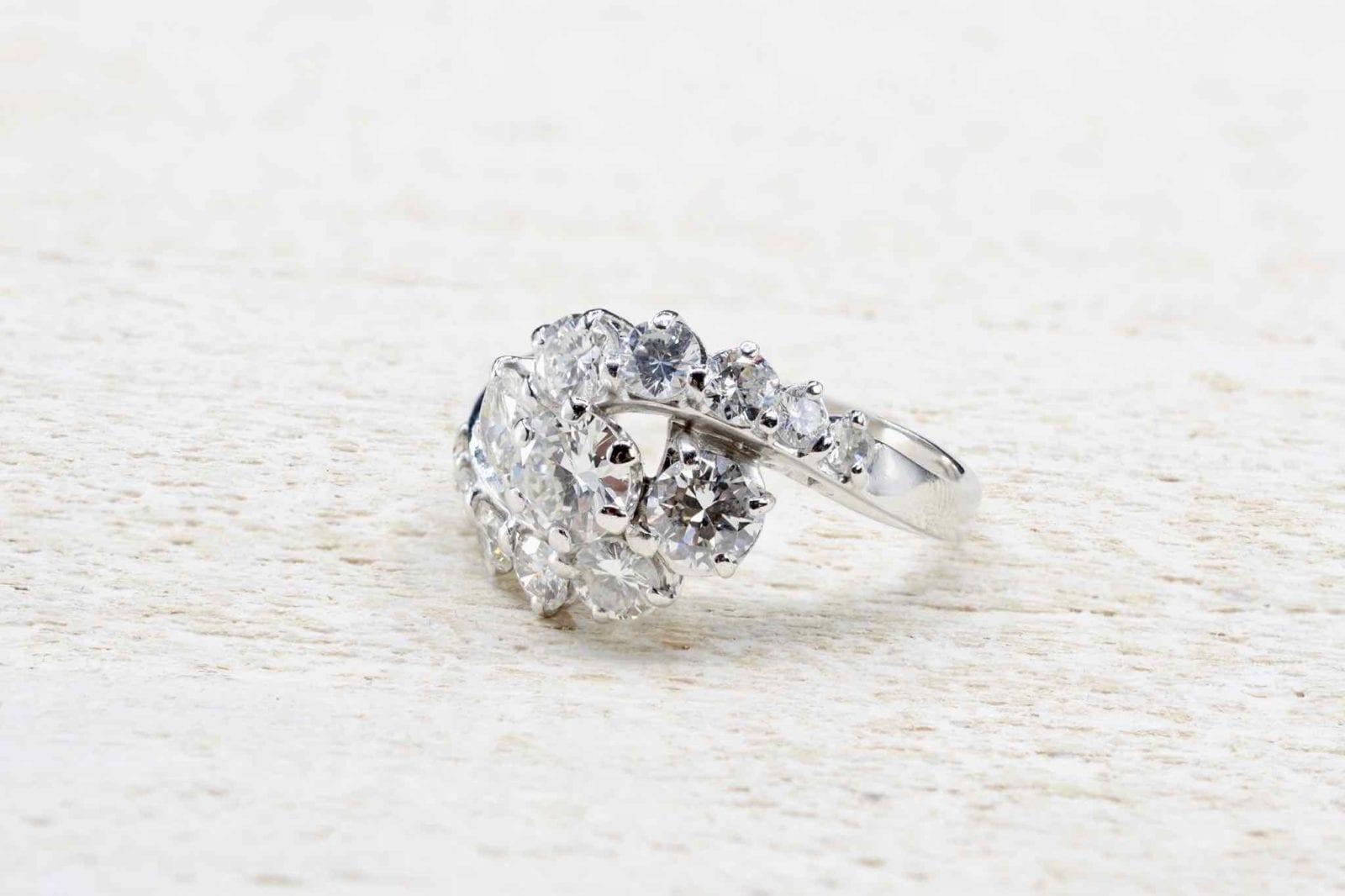 Diamants de taille brillant ancien
