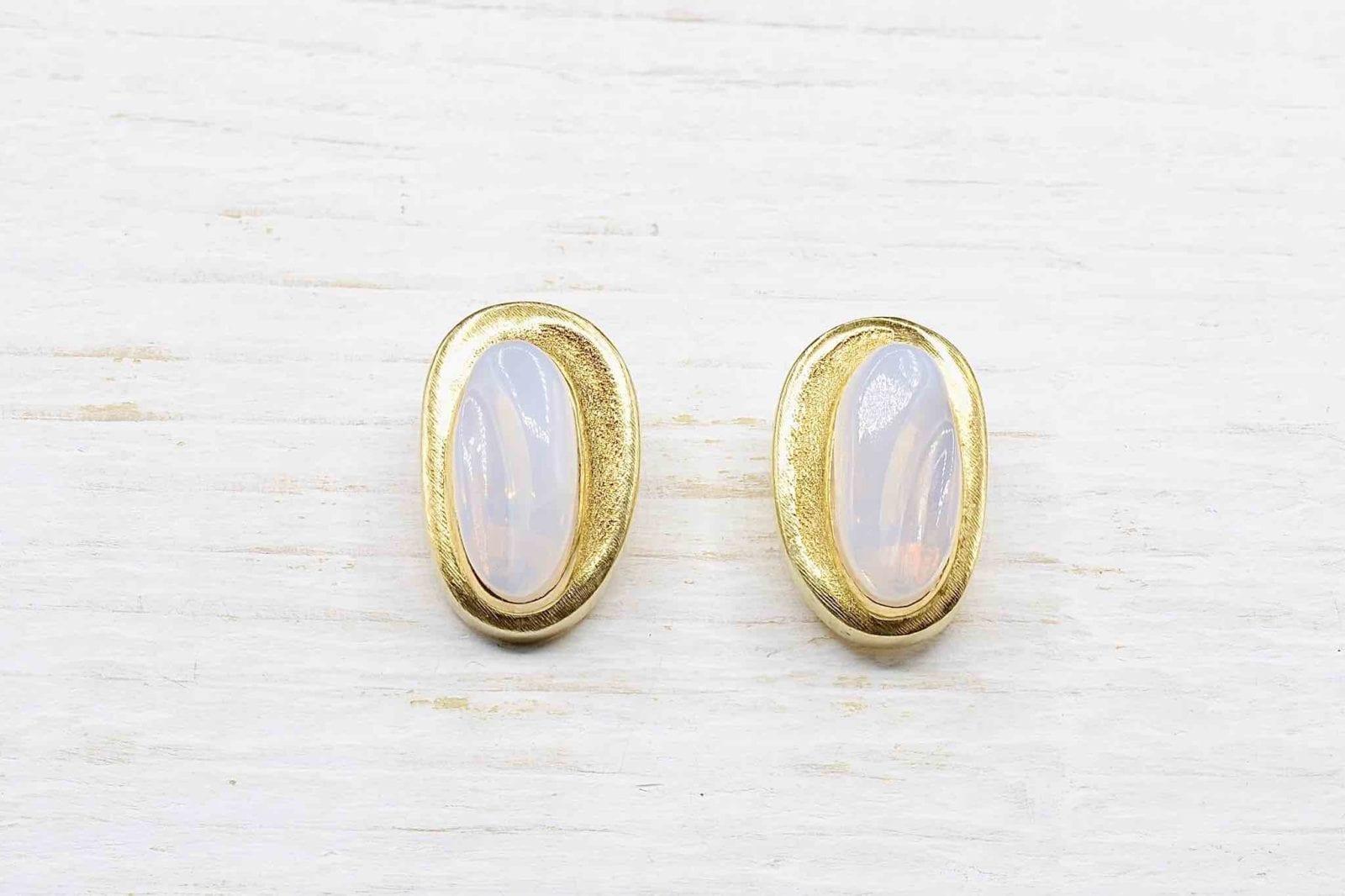 Boucles d'oreilles pierres fines