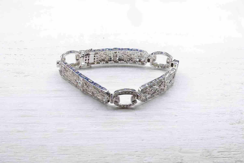 bracelet diamant époque 1930