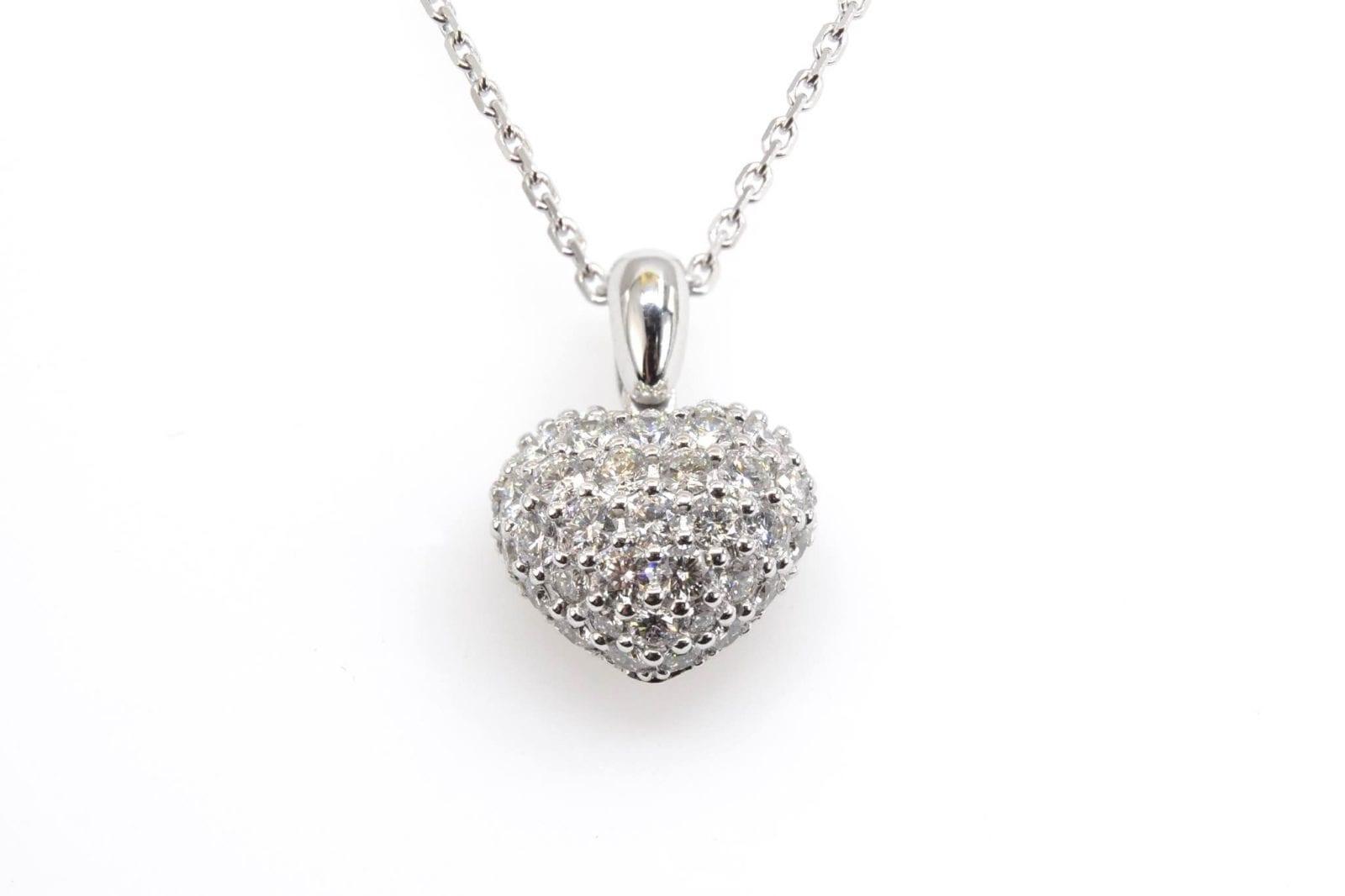 pendentif coeur Chopard diamants