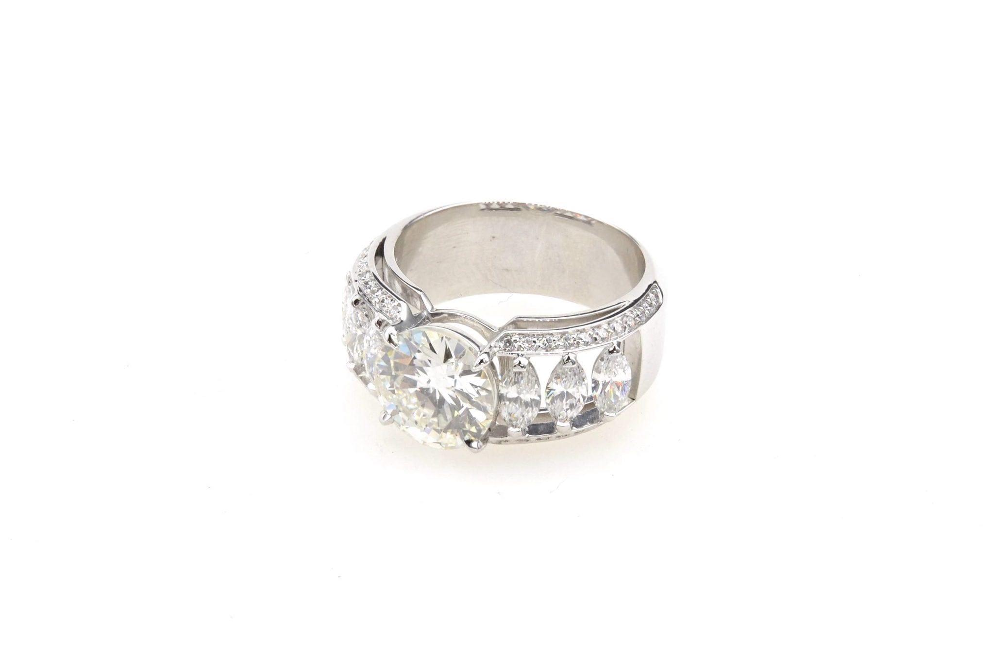 bague de fiancaille diamants