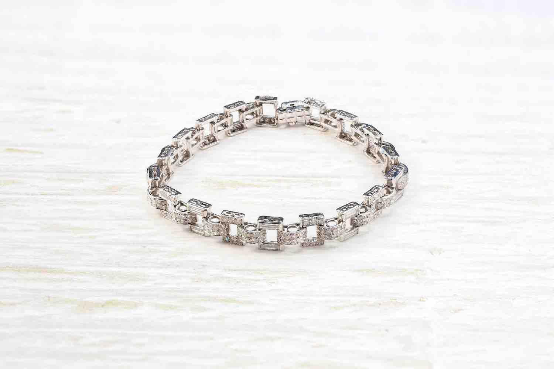 bracelet diamants d'occasion