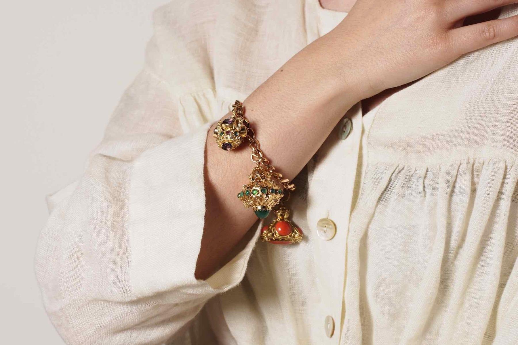 bracelet breloques or