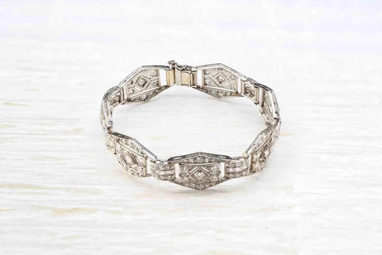 bracelet art déco d'occasion