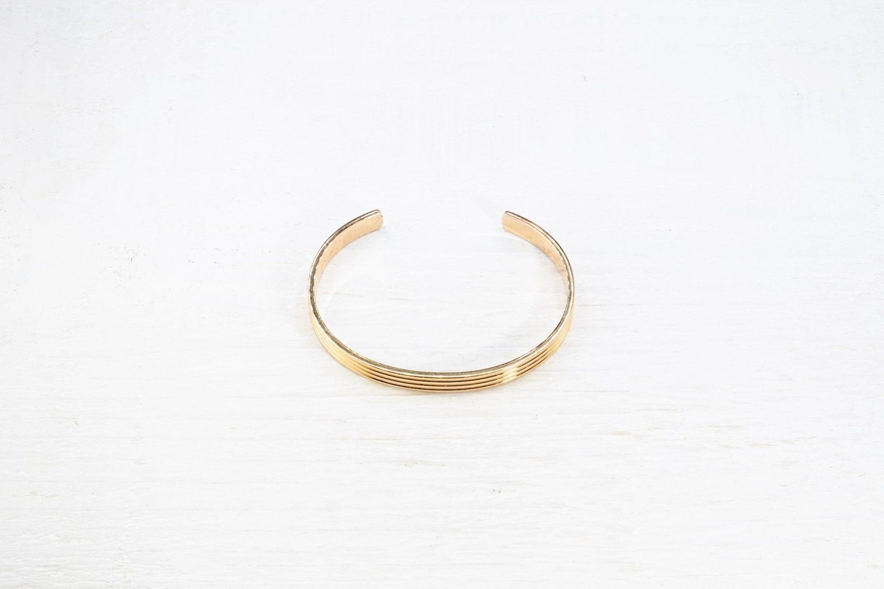 Bracelet Boucheron à gaudrons