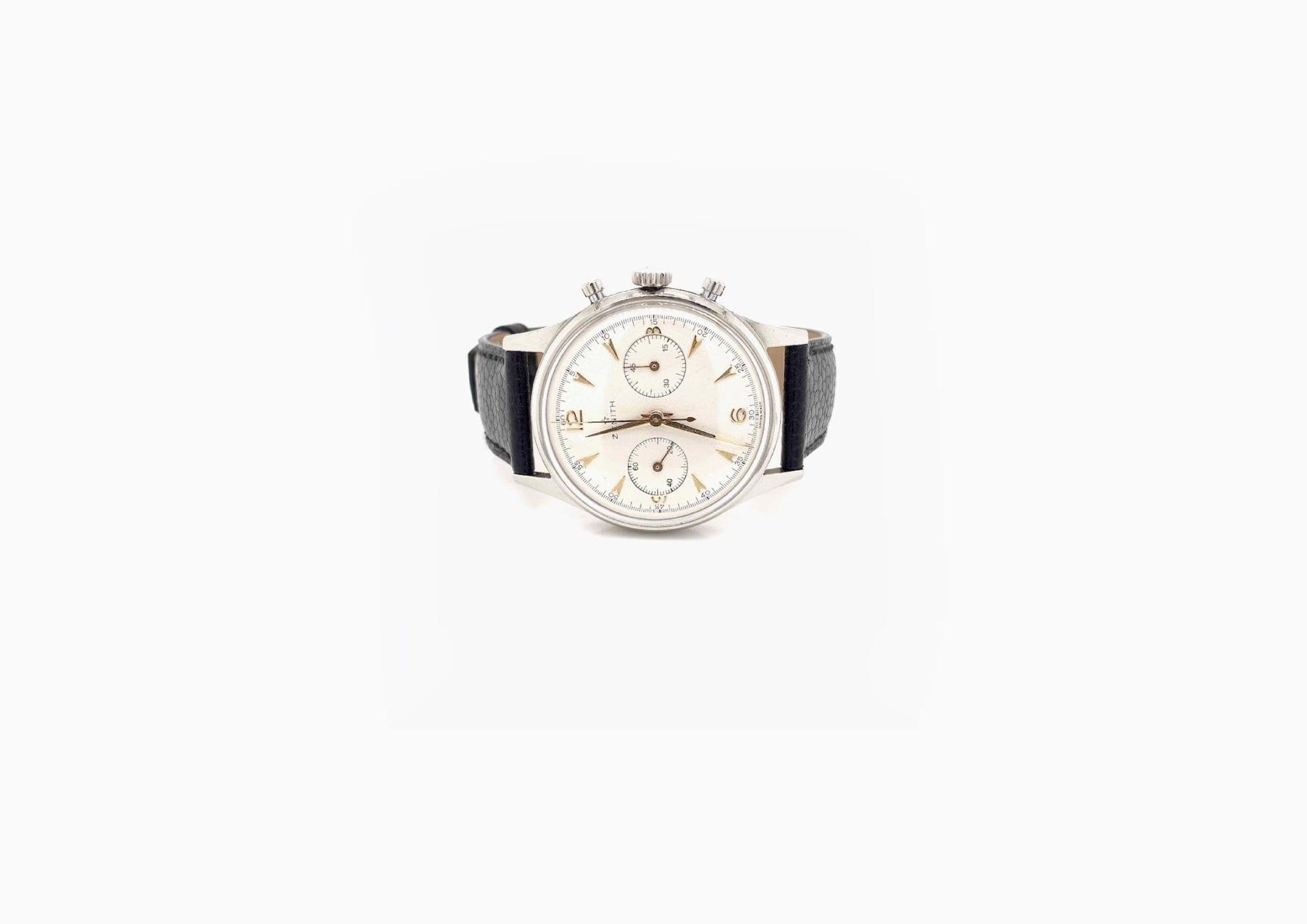 Montre Zenith Cal.136 chrono mouvement mécanique