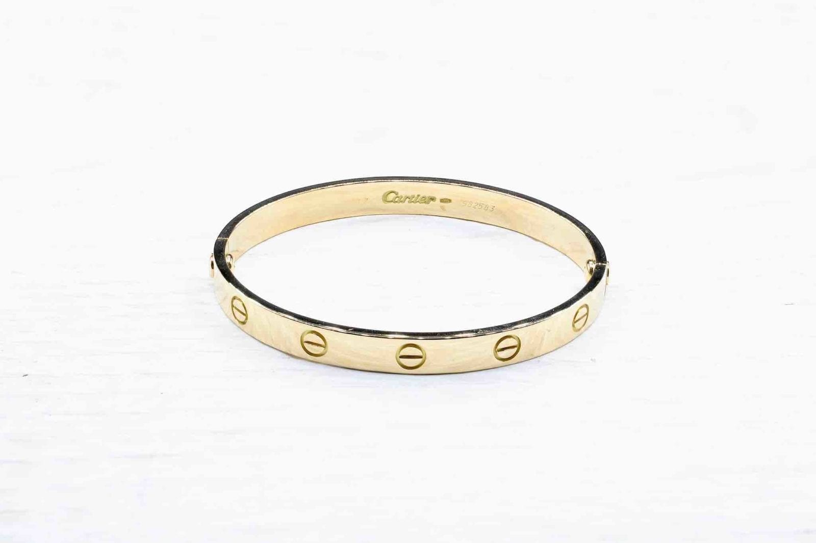 Bracelet Cartier Love en or jaune 18k