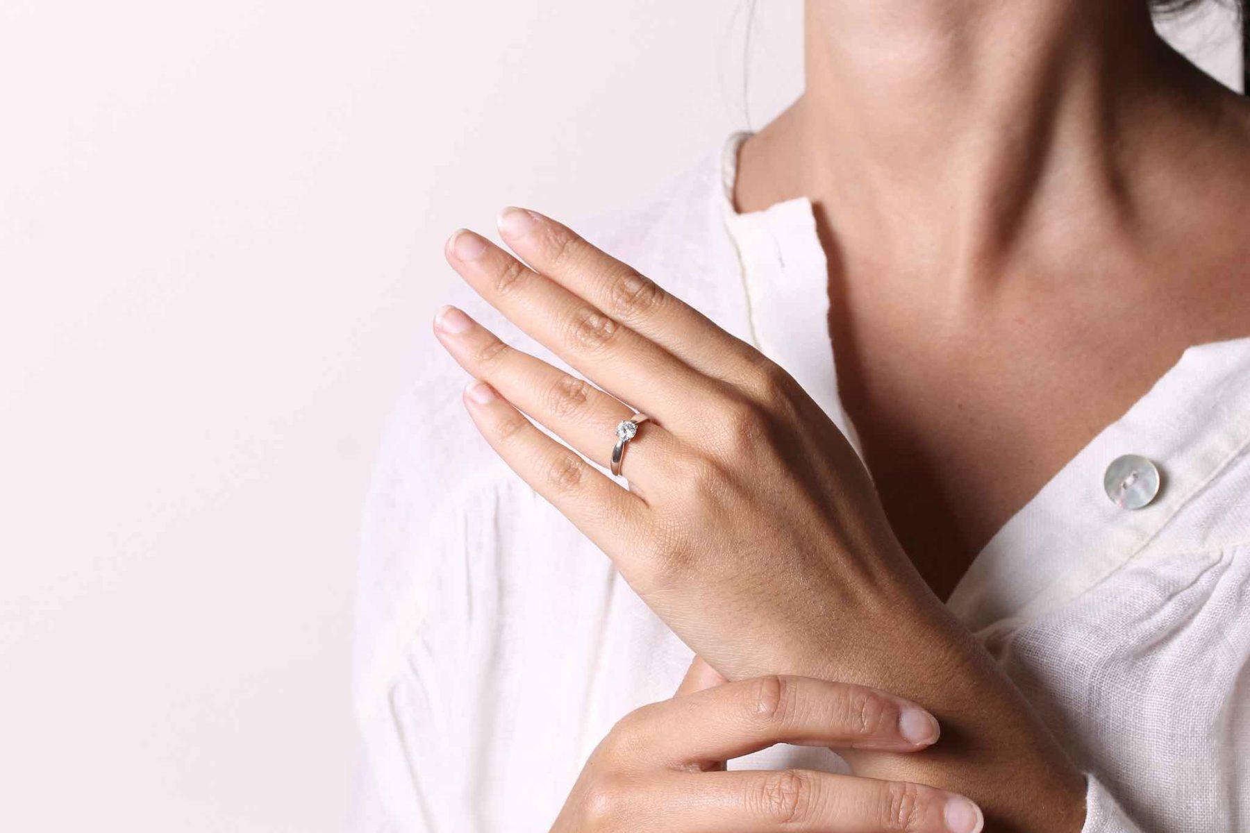 Bague solitaire diamant Harmony Tiffany&co