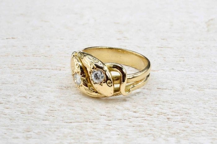 Bague serpent vintage
