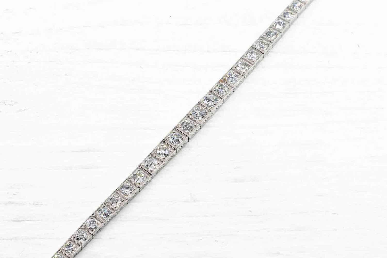 bracelet rivière de diamants