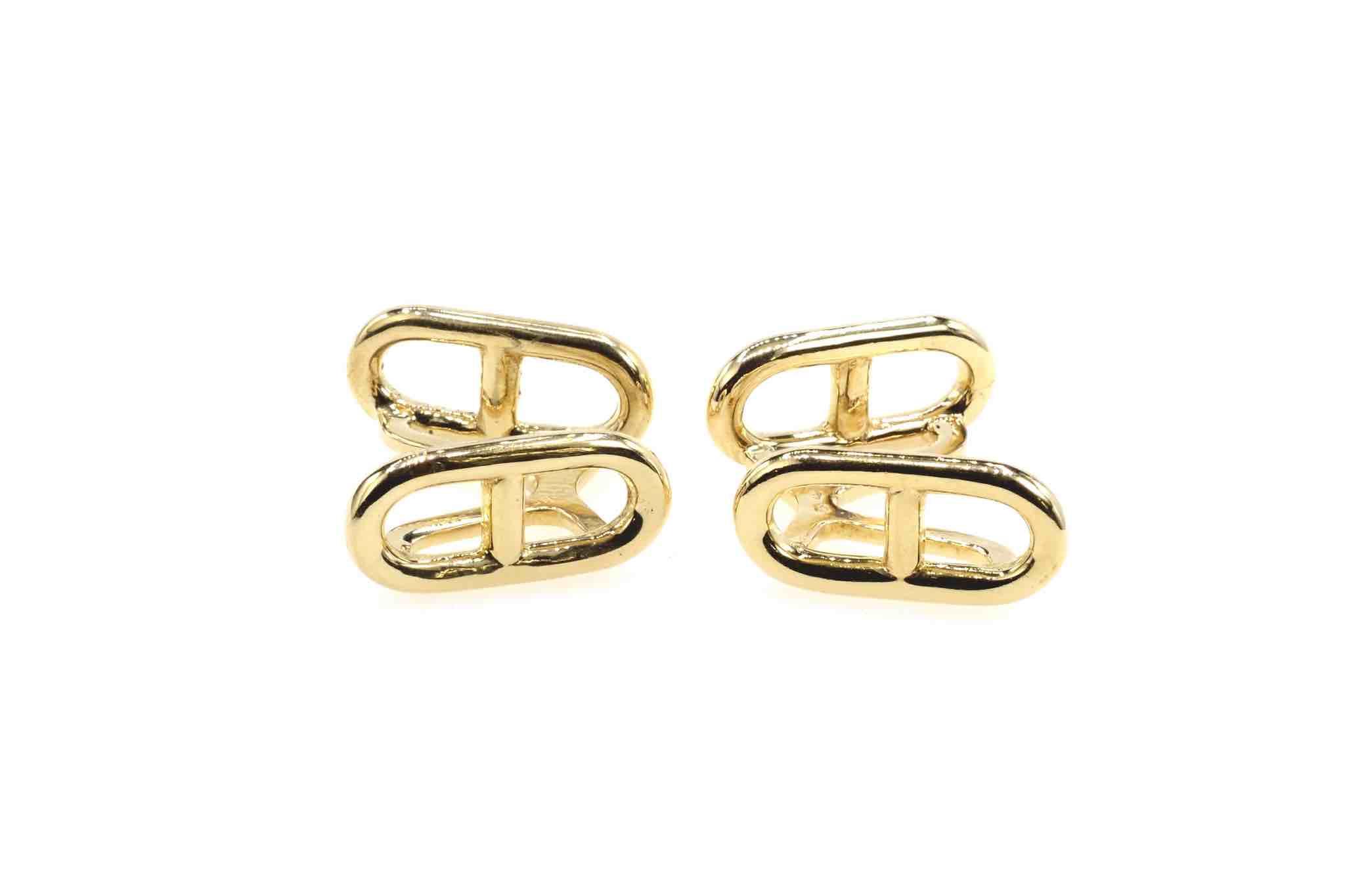 Boutons de manchette Hermès vintage