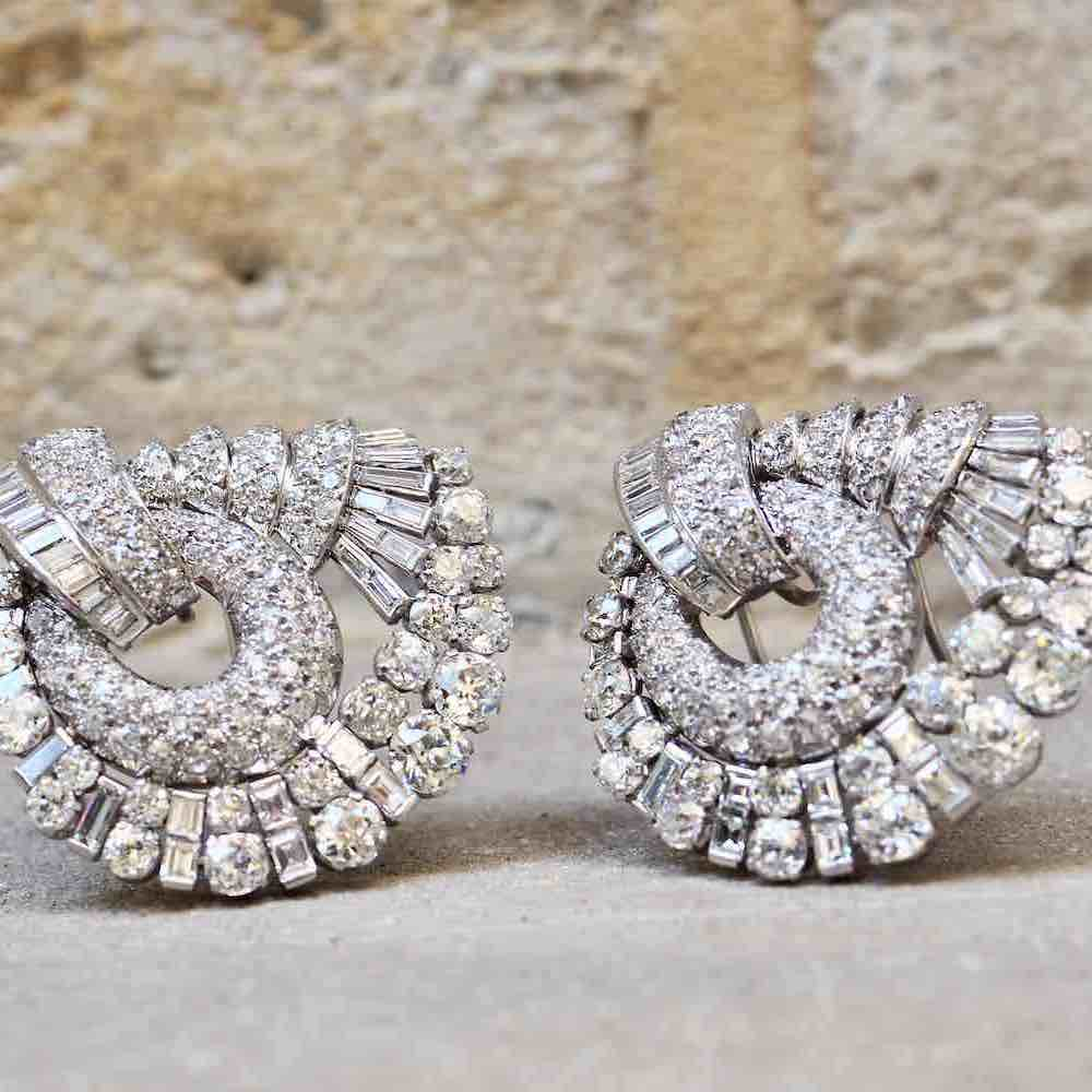 bijoux diamants années 50