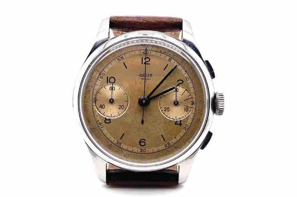 montre Jaeger LeCoultre chrono 1950