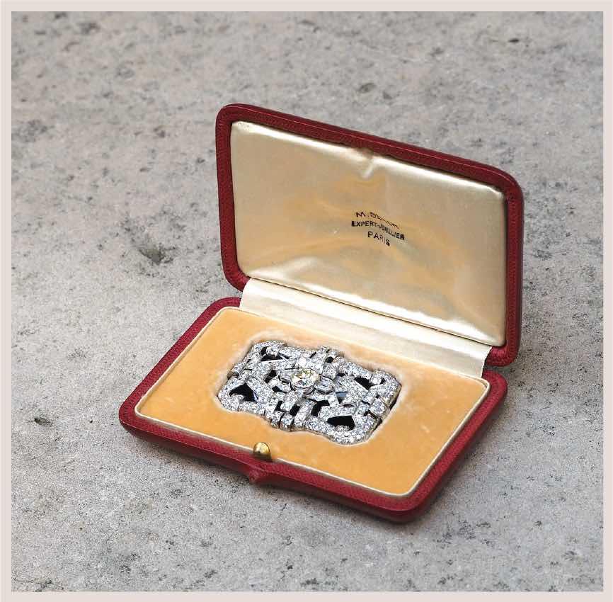 rachat broche diamant ancienne