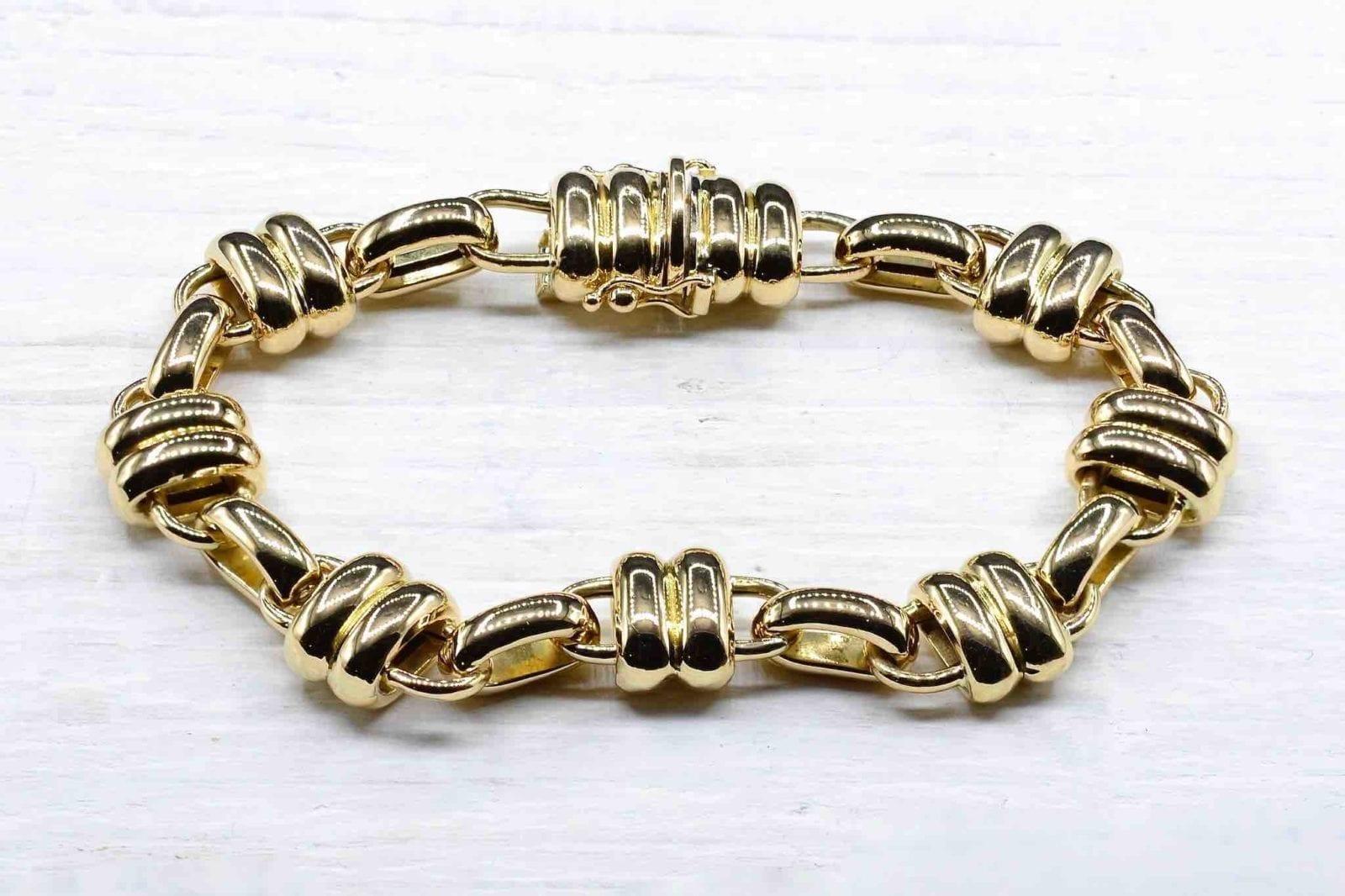 Bracelet Chaumet en or jaune 18k