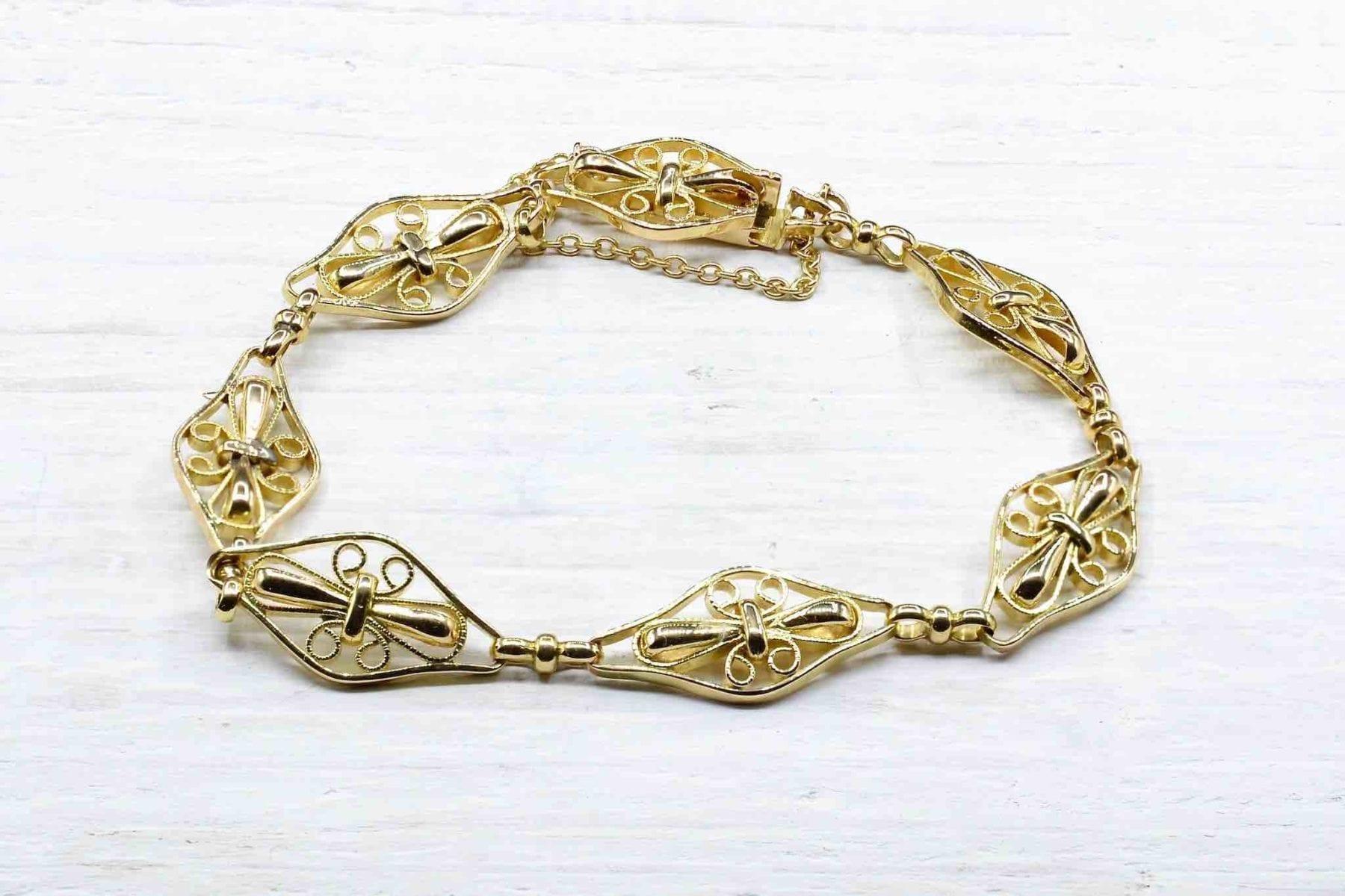 Bracelet ancien en or