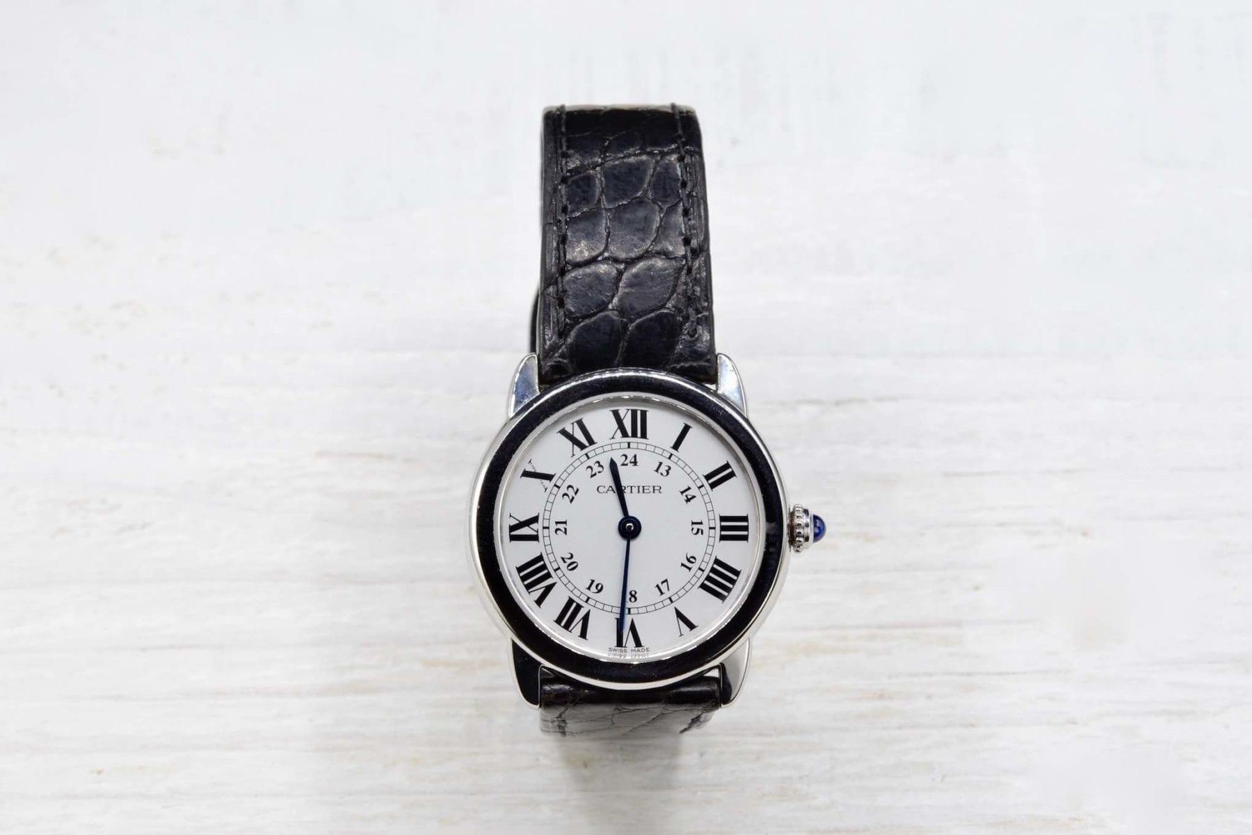 Montre vintage ancienne Rolex Oyster Datejust en acier année 1968