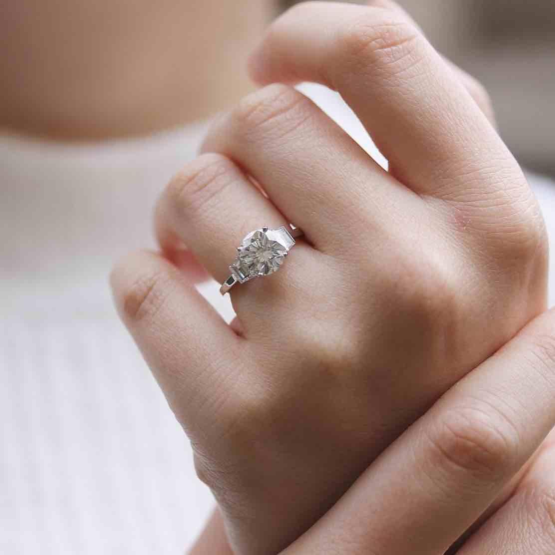 bagues de fiançailles diamants