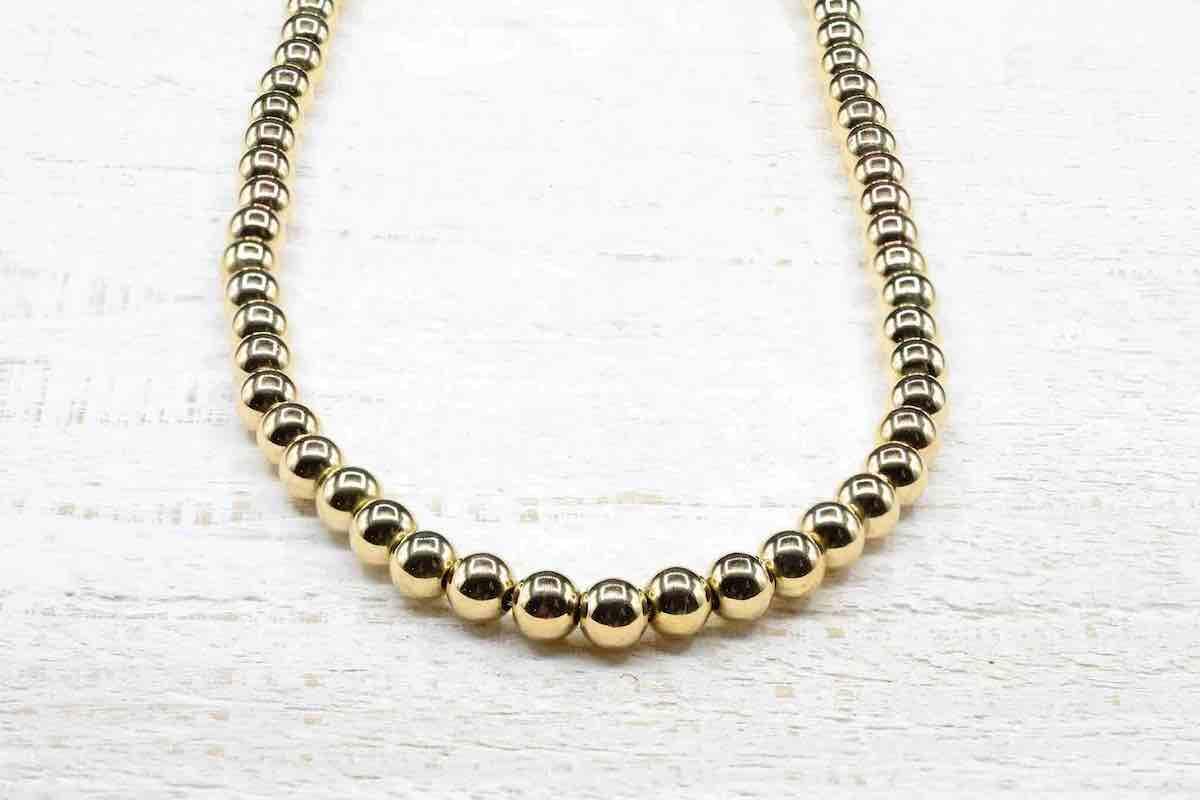 rachat collier perles en or