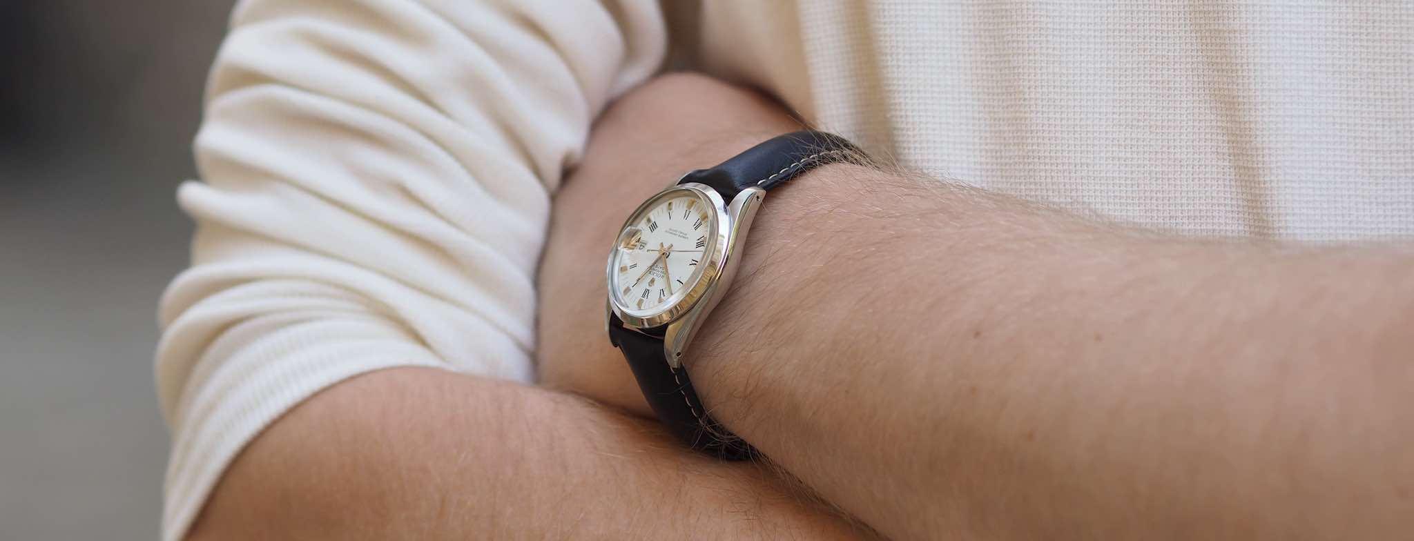 montres anciennes homme