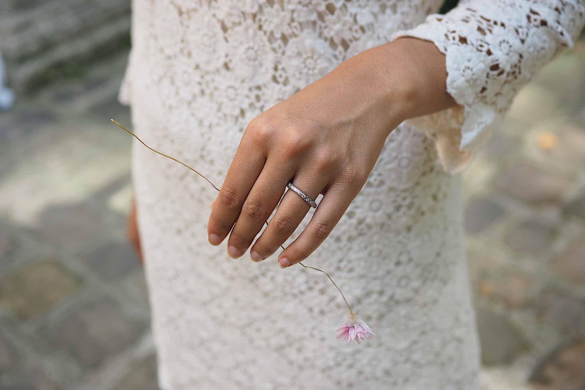Quelle alliance pour ma bague de fiançailles ?