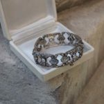 bracelet 19e diamants de taille brillant