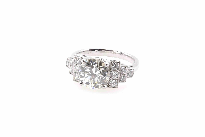 bague diamant art-deco