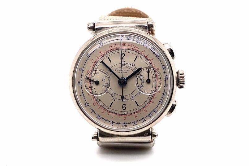 Montre Universal Genève Chrono ancienne