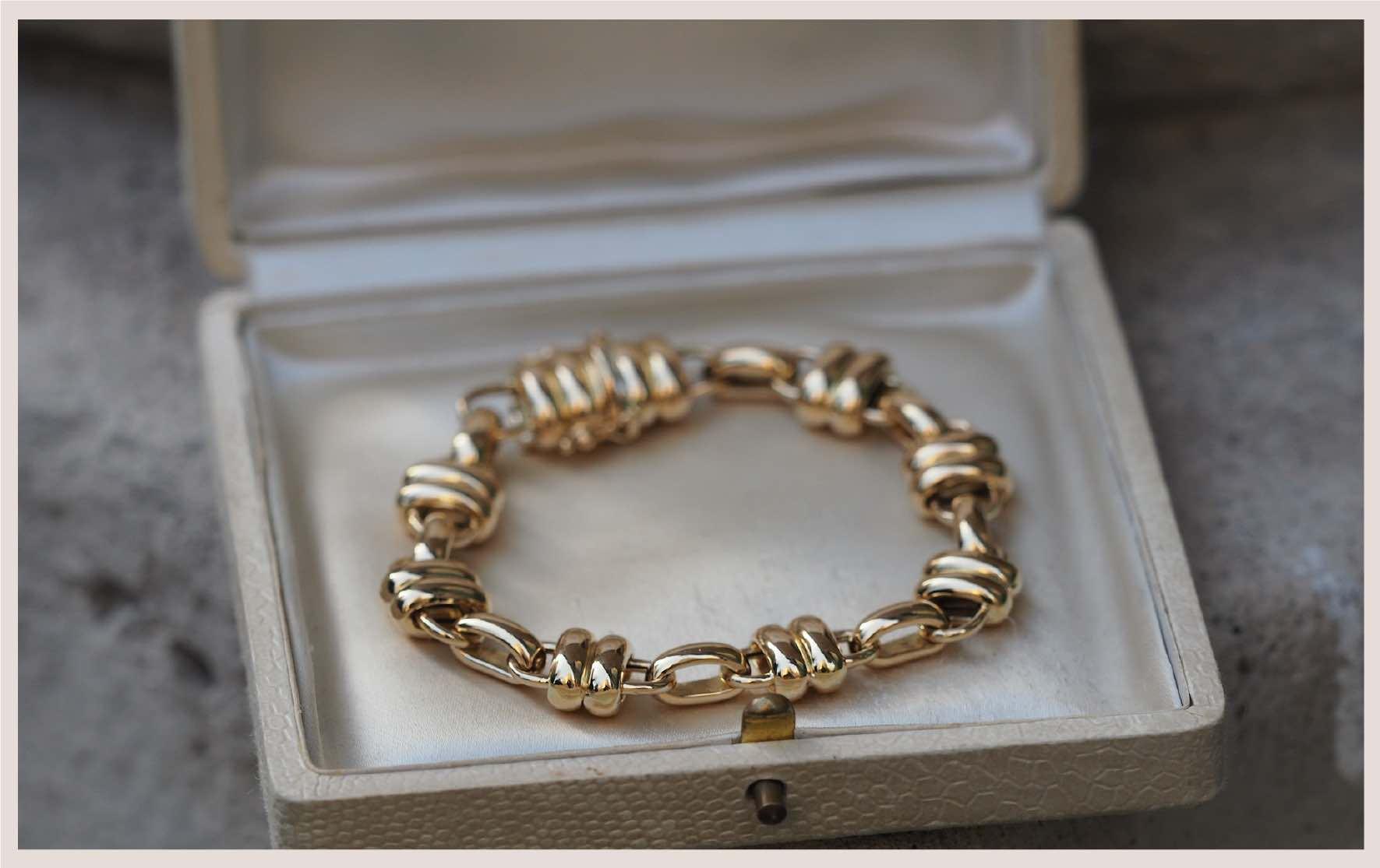 vente bijoux or jaune 18k