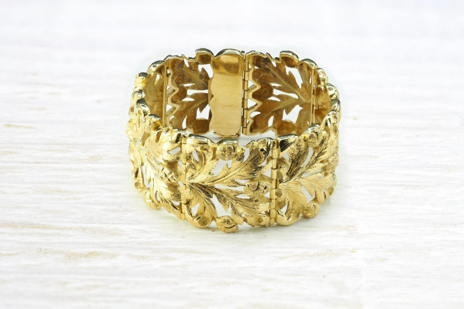 bracelet marnchette en or