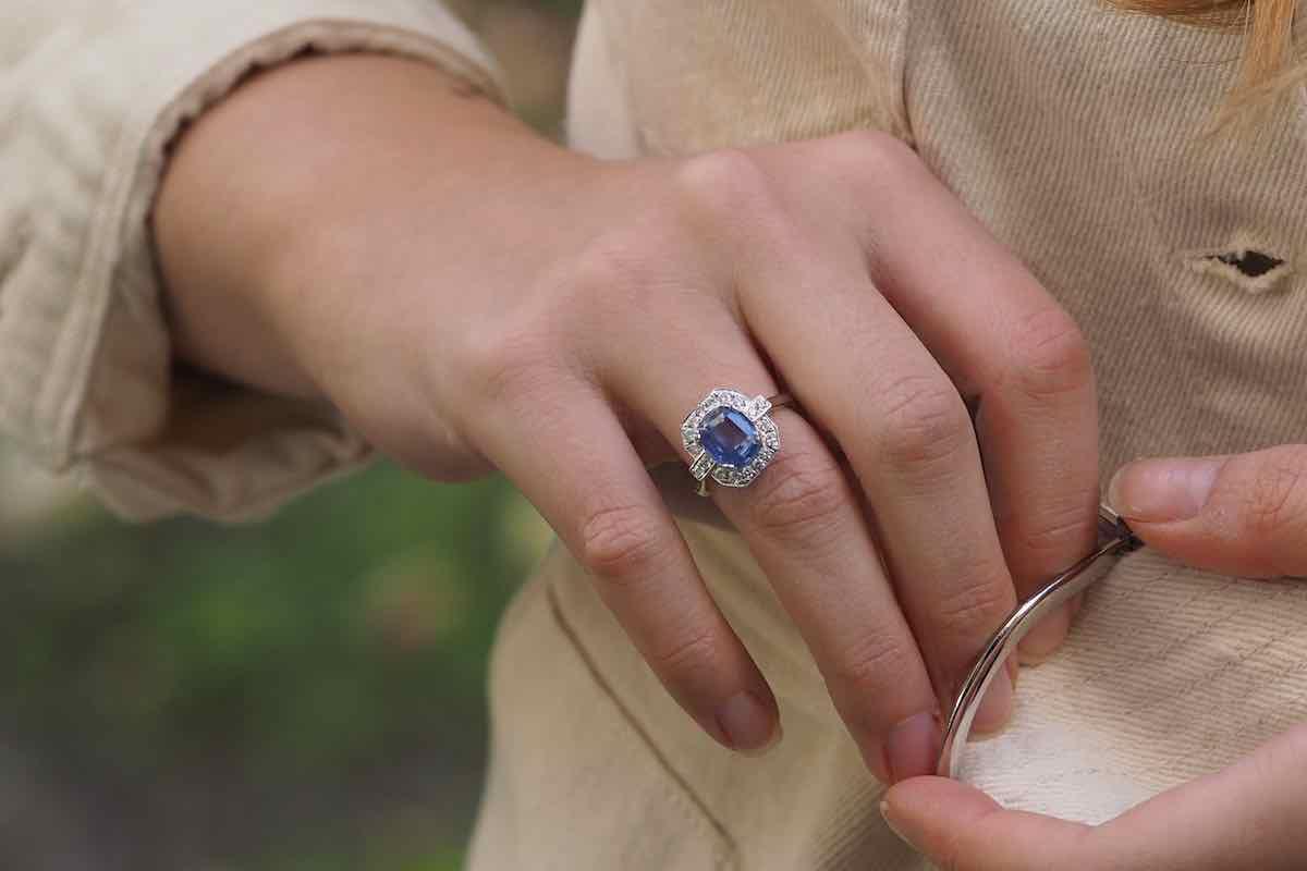 rachat de bijoux anciens saphirs