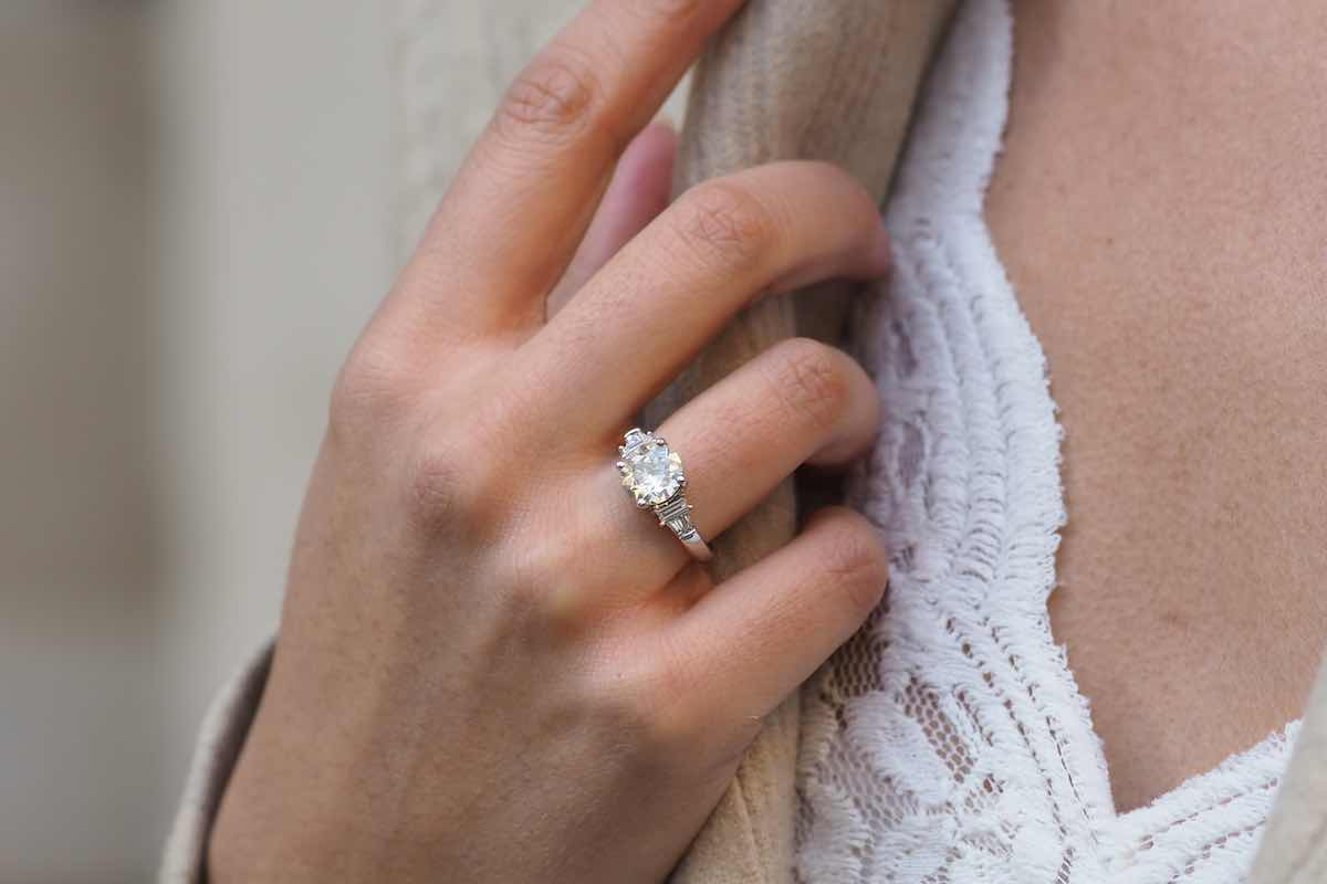 achat de solitaire diamant
