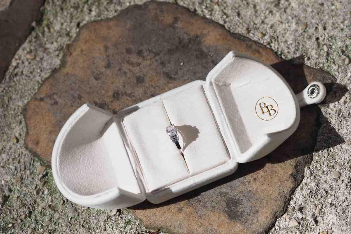 solitaire diamant de mariage