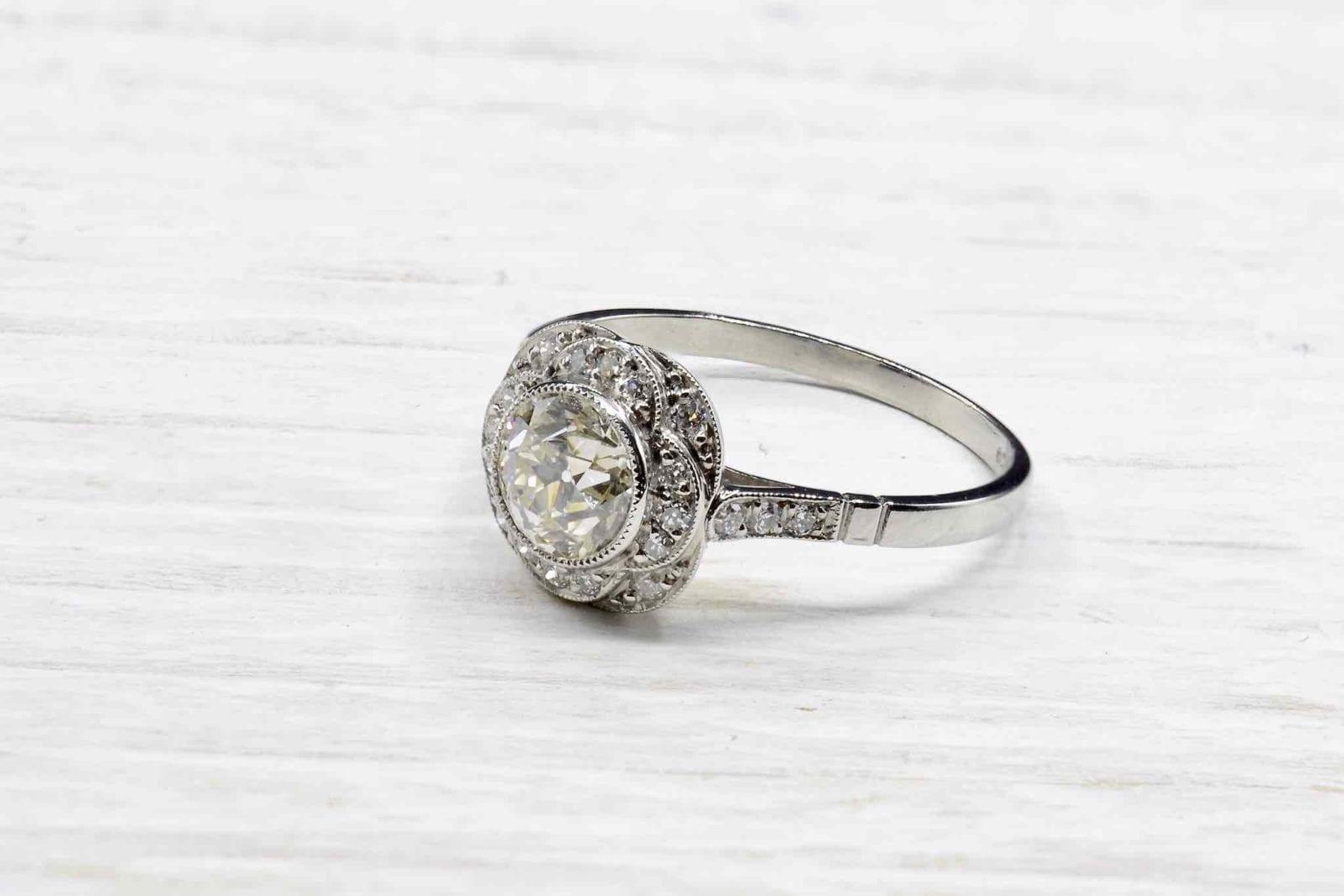 bague occasion diamants
