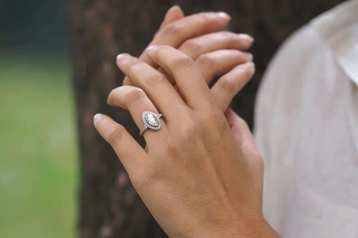 bijoux anciens et d'occasion de mariage