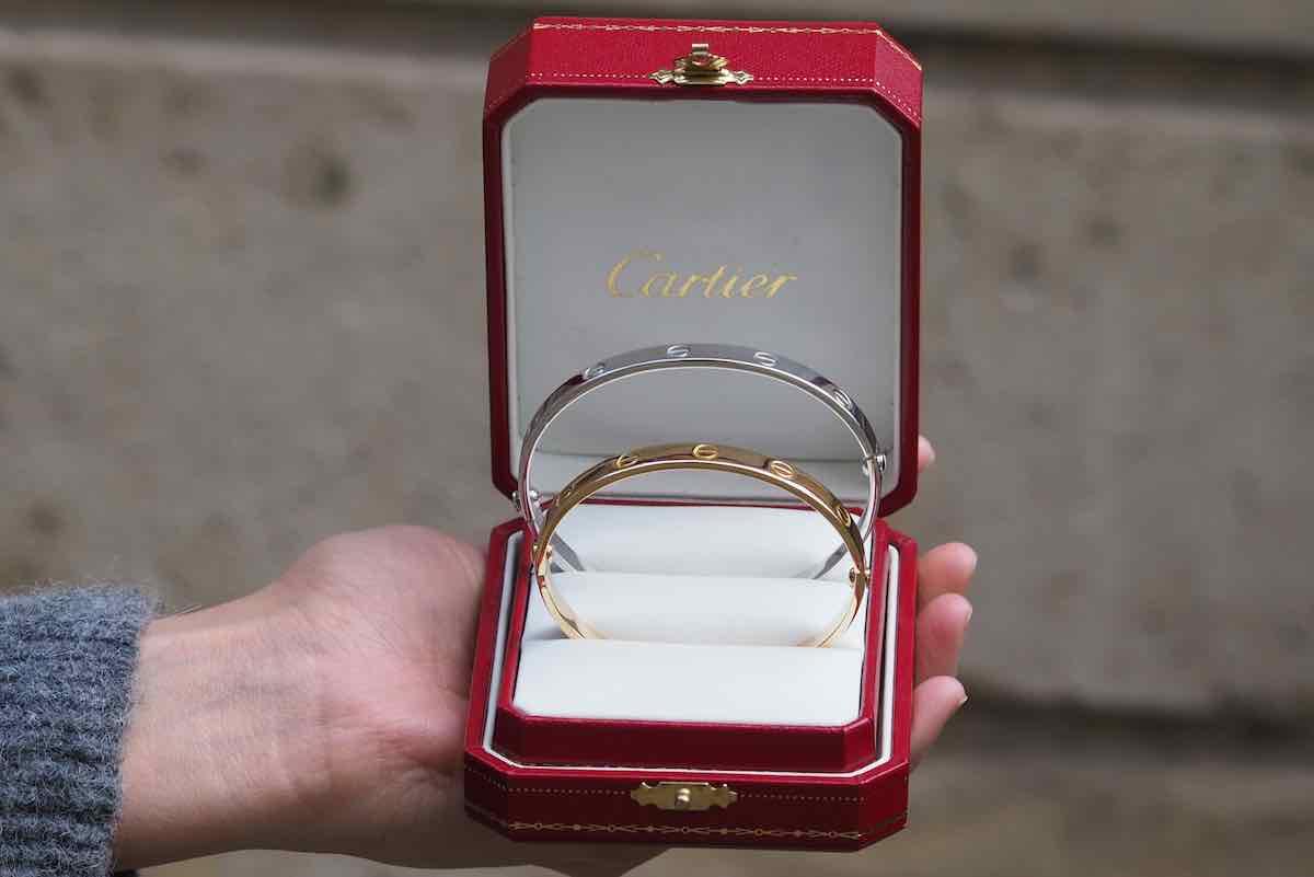 bracelet or 18K cartier
