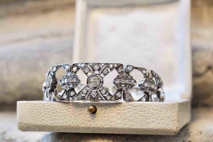 bracelet diamants Art Déco début 20e siècle