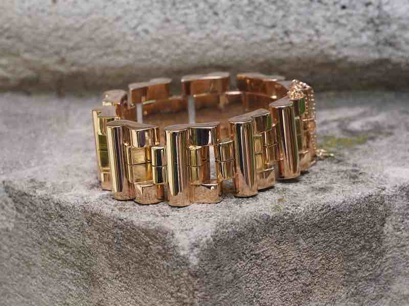 bracelet en or massif 18k