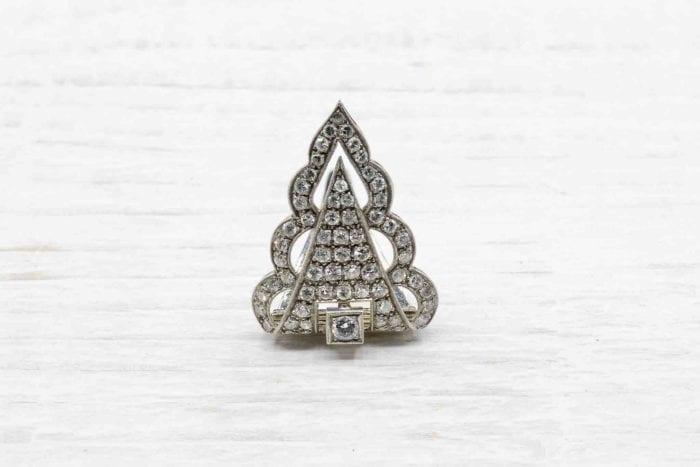 Clip Art Déco diamants en platine
