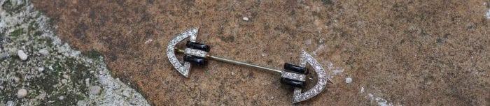 broche art déco van clefs & arpels